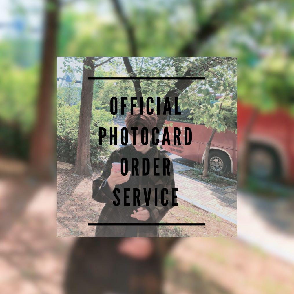 [PO] Official KPOP Photocard Helper / Service