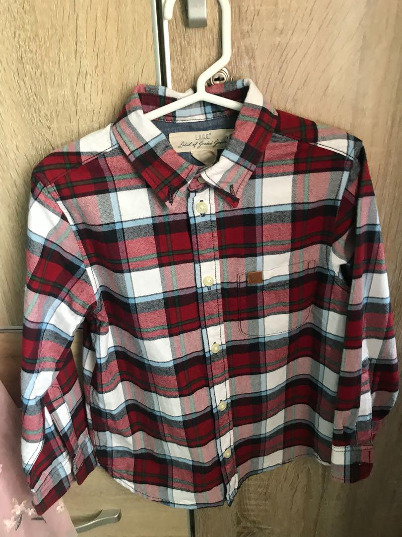Polo checkered on Carousell