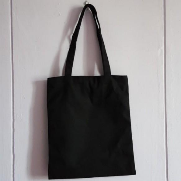 Postage Included  Plain Black Tote Bag c3160521401c
