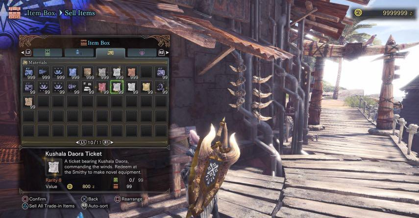 PS4 Save Editing (UPDATED FOR MHW v5 00!), Toys & Games