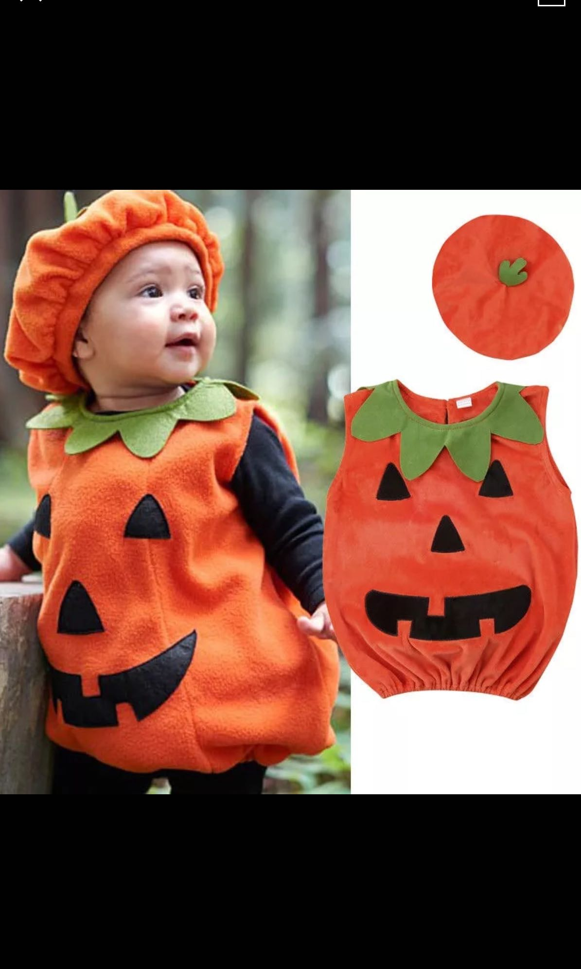 Pumpkin halloween costumes toddlers baby kids boy girl babies kids boys apparel to years on carousell
