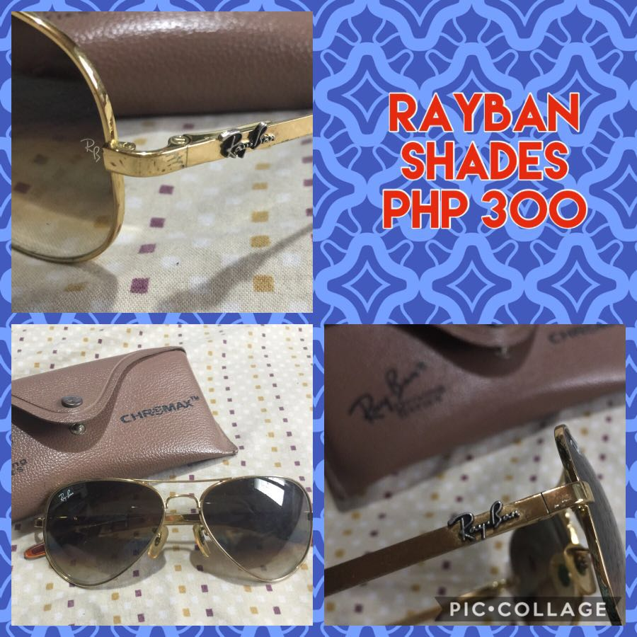 ... italy rayban sunglass preloved womens fashion accessories on carousell  96d8c bb9c6 1ba92f15b162