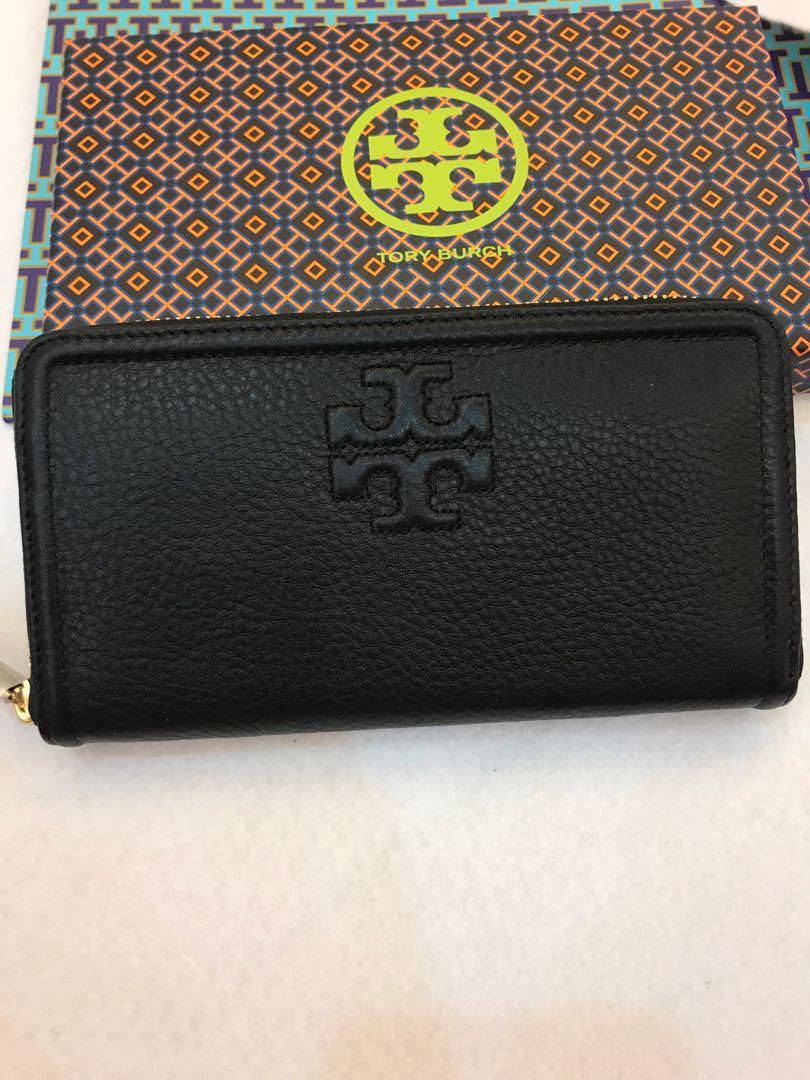 Ready Stock Tory Burch The Multi Gusset Zip Continental Wallet