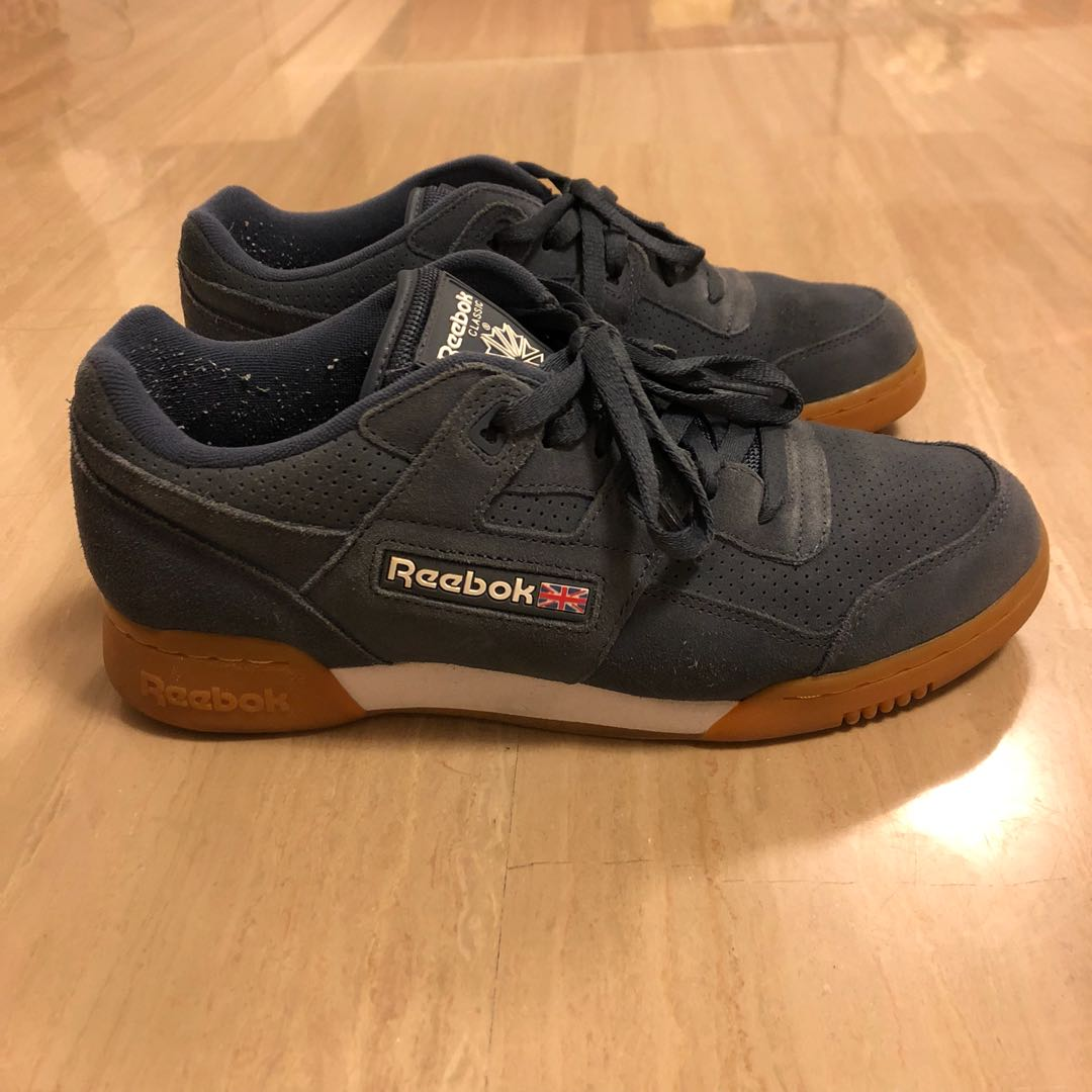 22d944a5334 Reebok Workout Plus suede sneakers