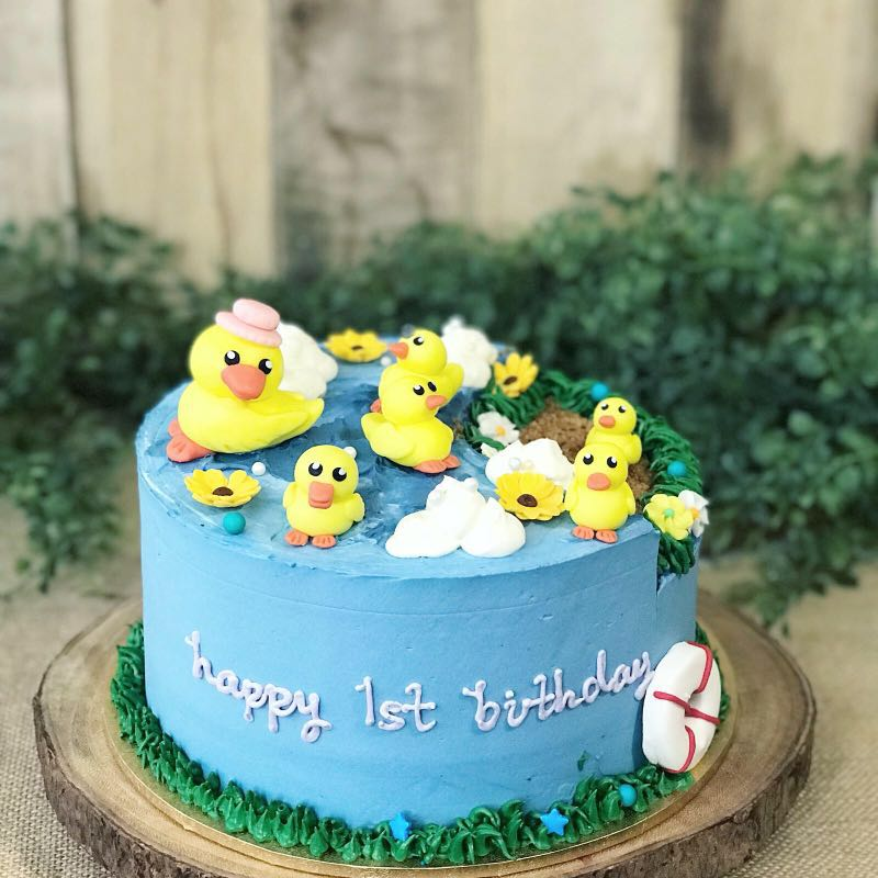 Super Rubber Duck Cake Kids Birthday Cake 1St Birthday Free Delivery Funny Birthday Cards Online Alyptdamsfinfo