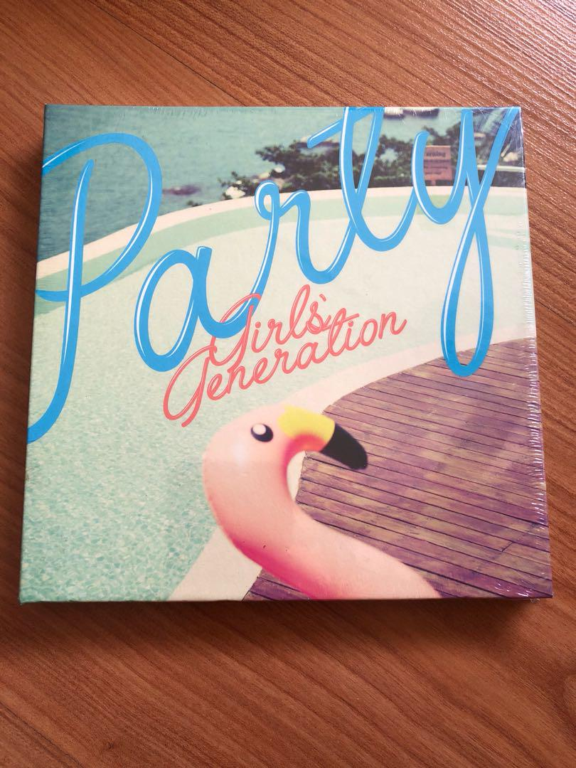 SNSD Girls' Generation Party unsealed