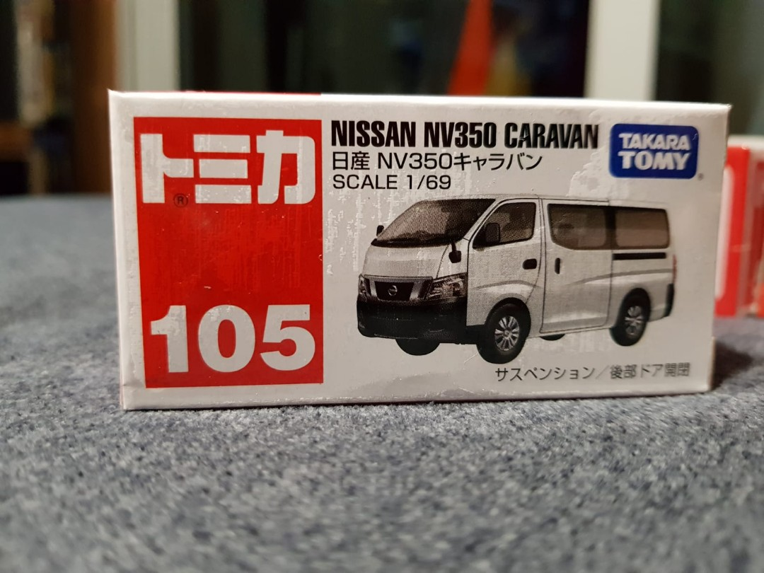 Tomica Nissan Nv350 Caravan Toys Games Others On Carousell