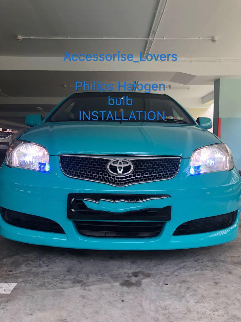 Toyota vios drop by for diamondvision and pole light led installation   Suitable for Toyota vios Altis Hyundai I30 elentra kia Volkswagen Sharan