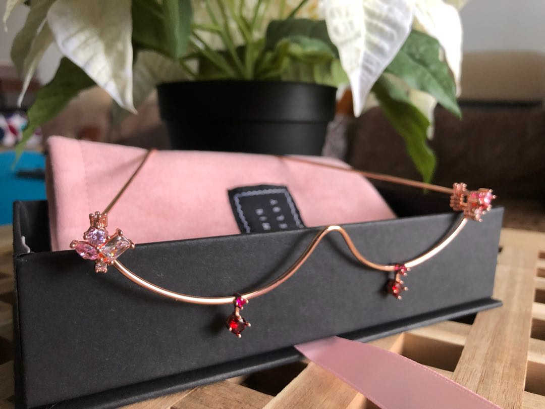 Yvmin Rose Gold Lightweight Half Flame Trendy Dangle Glasses Jewelry ...