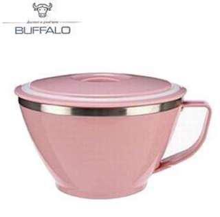 🚚 [Buffalo牛頭牌]粉彩隔熱杯碗
