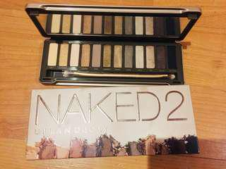 Naked 2 eyeshadow new ORI beli di sephora MKG