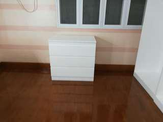 Malm chest of 3