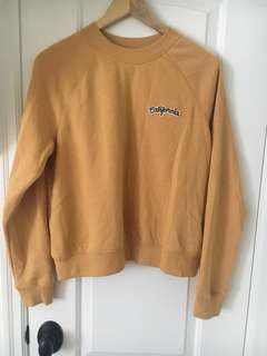 Yellow California Garage sweater
