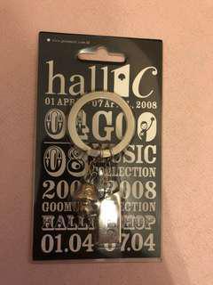 Hocc/Hall1c/Supergoo keychain