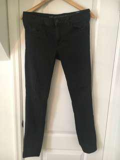 Faded black jeans American eagle