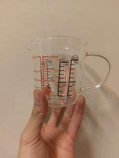 🚚 玻璃量杯