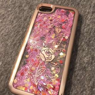 SOFTCASE IPHONE 7 WATERY GLITTER