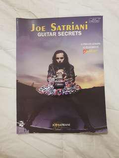 Joe Satriani Guitar Secrets Tablature