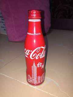 特價 $25 台灣版 特別版可口可樂 250mL 鐵瓶 注意有瑕疵