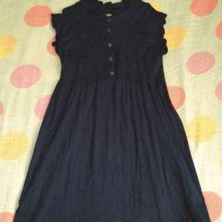 🍄 blue dress