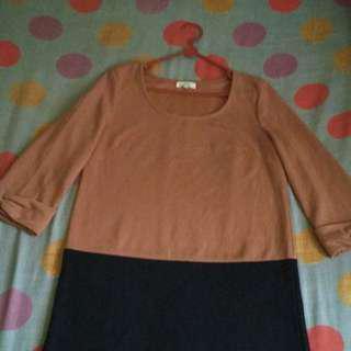 🍄orange dress
