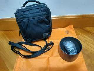 (Porter 套裝)斜袋(連防麈袋)+手錶(G shock x Porter)