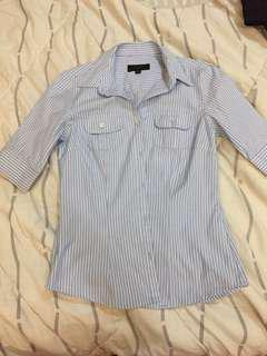Panini light blue stripes shirt