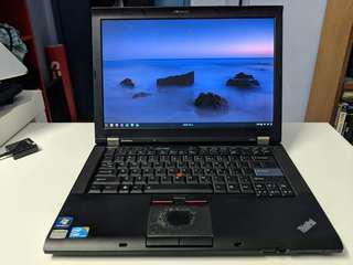 Lenovo Thinkpad T410 with SSD
