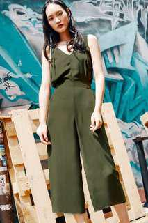 🚚 Fashmob Montana Jumpsuit in military green
