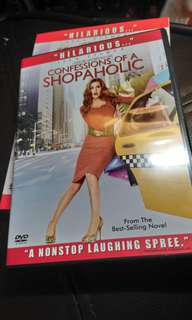 包郵<DVD>CONFESSIONS OF A SHOPAHOLIC潮拜購物狂