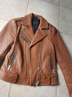 Mackage Rumer Leather biker jacket xs Aritzia