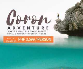 SWEET CORON ADVENTURE PACKAGE