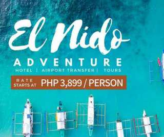 SWEET EL NIDO ADVENTURE PACKAGE