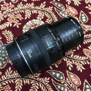 Canon EF 50 微 50 2.5 compact macro