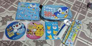 Pokemon Pencil and Pouch