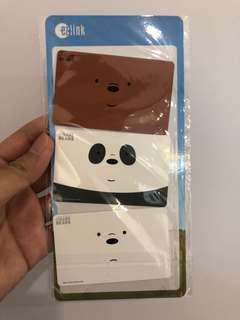 WE BARE BEARS ez link cards!