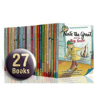 🚚 Nate The Great Collection Boxset Gift - 27 Books ( All Paperback Books and Brand New )