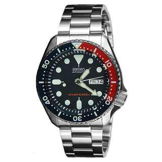 Seiko skx009 Automatic diver's 200m