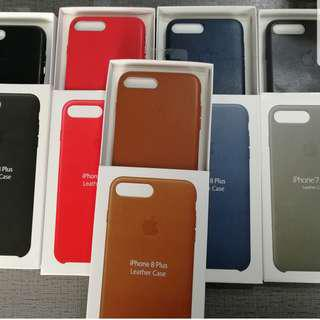 SAME DAY DELIVERY Apple Leather Case iPhone 7 8 plus X