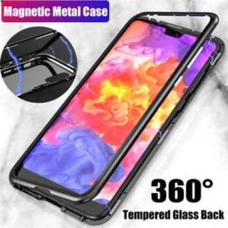 Huawei P20 / P20 Pro Magnetic Metal Frame Case