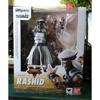 S.H.Figuarts Street Fighter V Rashid
