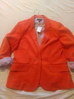Orange Blazer - Large