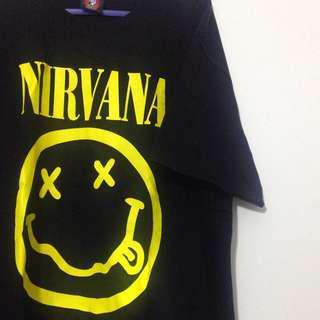 Unisex Nirvana tshirt #50under
