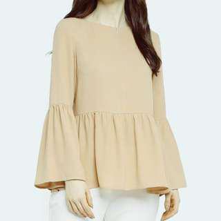 Peplum details blouse
