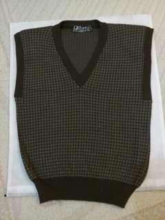 潮款毛冷背心,wool vest ,France.#Getredress