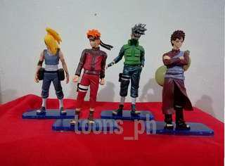 Anime Naruto (style 2) set of 4