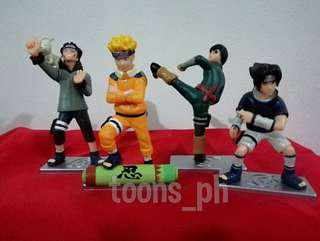 Anime Naruto (style 3) set of 4