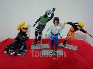Anime Naruto (style 5) set of 4