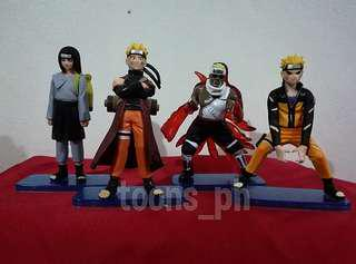 Anime Naruto (style 7) set of 4