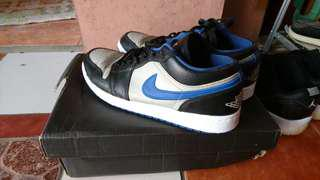 Nike Air Jordan 1 Low Blue Platinum ORI